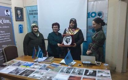 Türk Ocağı'nda düzenlenen ve Şehit Emre Kaan Arlı'nın Annesininde Katıldığı Konferans başarılı geçti