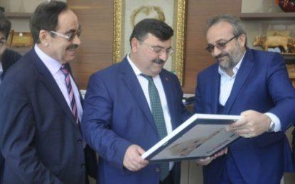 Artvin Belediye Başkanı Kalyoncu'yu Ziyaret Etti