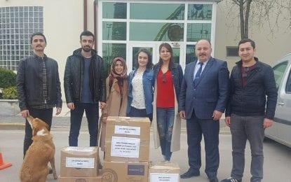 KOÜ'lü Öğrencilerden Mardin'de ki Okullara Kitap Bağışı