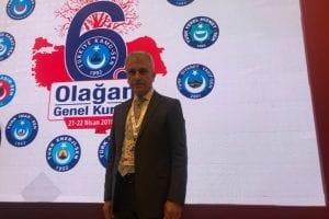 Çeker,Türkiye Kamu Sen Genel Başkanlığına aday gösterildi