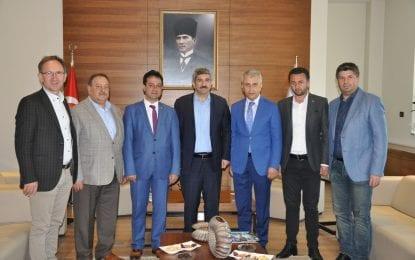 Sendika Başkanları Kocaeli Ticaret Odası (KOTO) Başkanı ile Meclis Başkanını ziyaret etti