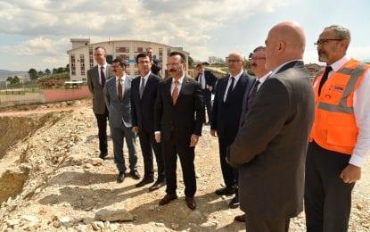 Vali Aksoy Şehir Hastanesini İnceledi