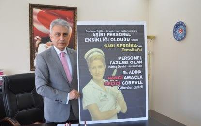 Başkan Çeker; Kamu Yararı Yerine, Malum Sen Temsilcisinin Yararı Gözetilmektedir