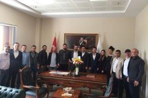 Kocaeli Müteahhitler Birliği Başkanı Faruk Mamik'e Ziyaretler Sürüyor