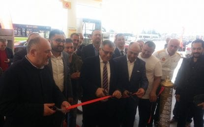Halkevi Efe Petrol Shell Dualarla Açıldı