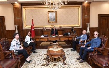 Abhaz Derneği'nden Vali Aksoy'a Ziyaret
