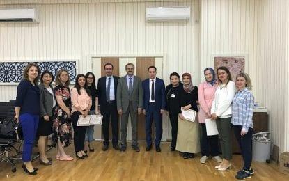 Kocaeli İl Sağlık Müdürlüğü Kamu Hastaneleri Hizmetleri bünyesinde TIG OKULU açıldı