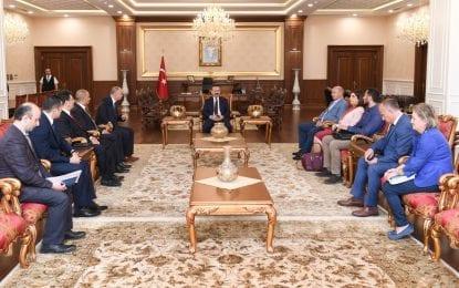 Enerji Ve Tabii Kaynaklar Bakanlığı'ndan Vali Aksoy'a Nezaket Ziyareti