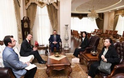 Belçika Büyükelçisi Michel Malherbe, Vali Aksoy'a Nezaket Ziyaretinde Bulundu