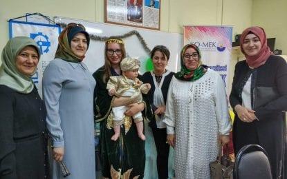 AK Partili kadınlarNatalia'nın mutluluğuna ortak oldu