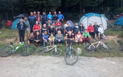 Kocaelili Bisikletçiler İnönü Yaylasında Kamp Yaptı