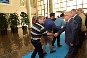 Vali Vekili Dursun Balaban, Valilik Personeli İle Bayramlaştı