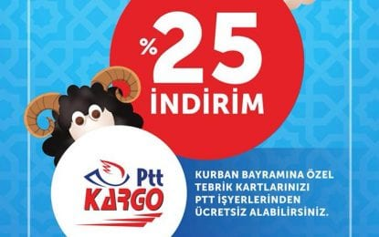 PTT'den Kurban Bayramı'na Özel Kampanya