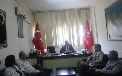 Kızılay İzmir Şube Yönetim Kurulu Vatan Partisi İl Başkanlığını Ziyaret Etti