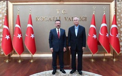 İstanbul Japonya Başkonsolosu Norio Ehara Kocaeli'de