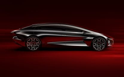 Aston Martin'in ilk elektrikli otomobili Rapide E dünya genelinde tanıtımı yapıldı