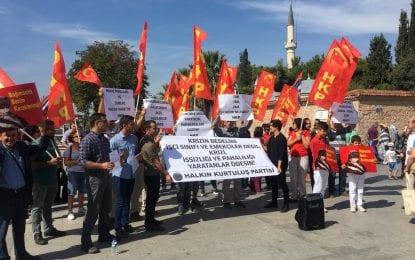 HKP'den Ekonomik Krize karşı eylem!