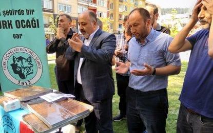 Türk Ocakları'ndan helva etkinliği