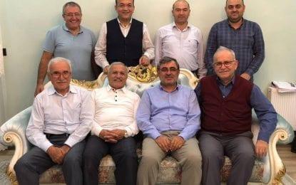 Akça Koca Kültür Platformu Ali Aydemir'i evinde ziyaret etti