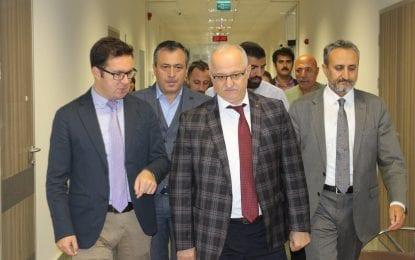 Ergüney'den Gebze Fatih Hastanesine Ziyaret