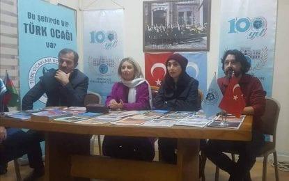 İranlı sanatçılar Türk ocağına konuk oldu