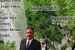CHP İzmit Aday Adayı Cengiz Çakar'dan adaylık bildirgesi