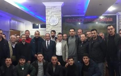 Kocaeli Taşköprülüler Derneği Başkan Adayı Ali Çakır'ı Başkan Adayı gibi karşıladı