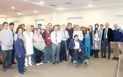 Kocaeli Devlet'de Engelli Çalışanlar Moral Buldu
