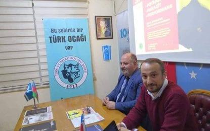 Kocaeli Türk Ocağı'nın Konuğu Eğitimci Celal Bayraktar ile 3P