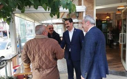 Ali Çakır'a Milletvekili Desteği