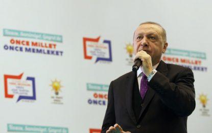 """""""Türkiye'yi 2023 hedeflerine ulaştırmanın, 2053 ve 2071 vizyonlarına sahip kılmanın çabası içindeyiz"""""""