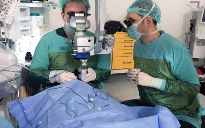 İlimizde, Vitrektomi (göz arka segment) ameliyatı yapan ilk devlet hastanesi Kocaeli Devlet oldu
