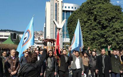 """THP İl Başkanı Özer Mert Özdemir:""""Türk ismini siyasi çıkarlarınıza göre değerlendiremez, değiştiremezsiniz"""""""