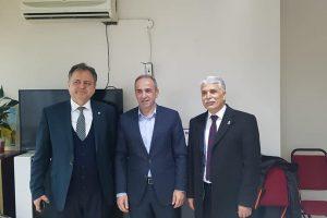 İYİ Parti Büyükşehir Adayı Kaman'dan Ali Çakır'a Siyasi Ziyaret