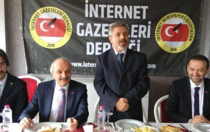 İnternet Gazeteleri Derneği Seçime Girecek Partiere Buuşuyor