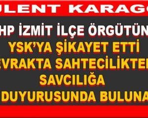Usta Gazeteci Bülent Karagöz: Bu parti sizin babanızdan kalan çiftlik değil, halkın partisi….Hilekarlara geçit vermeyeceğiz…