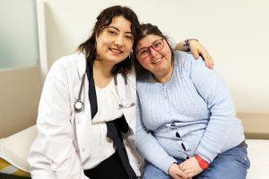 Down Sendromlu Gençler Kocaeli Devlet Hastanesi'nde Sağlık Taramasından Geçti