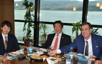 """Japonya'nın Ankara Büyükelçisi Akio MIYAJIMA; """"Ege Bölgesi'nin gıda ürünlerinin lezzet ve kalitesine hayranım"""""""