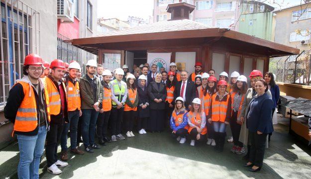 """Türkiye'nin ilk """"İş Sağlığı ve Güvenliği Laboratuvarı"""" Üsküdar Üniversitesinde açıldı"""