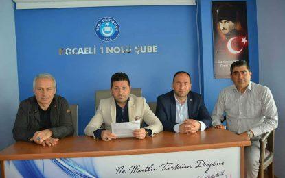 Türk Eğitim-Sen Kocaeli: Varlığımızı Türk Varlığına Adıyoruz