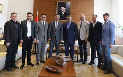 KOTO Yönetim Kurulu'ndan  Başkan Turan'a mutlu veda