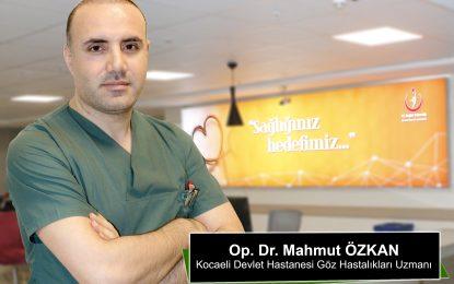 Kocaeli Devlet Hastanesi'nde Yeni Göz Doktoru Göreve Başladı