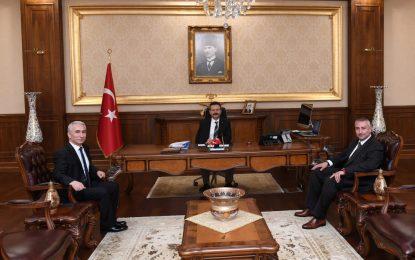 SEDAŞ Yönetim Kurulu ve İcra Başkanı, Vali Aksoy'u Ziyaret Etti