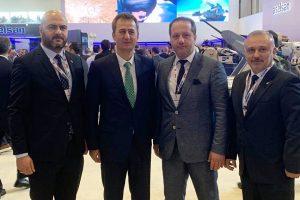 KOTO Yönetim Kurulu Üyeleri İDEF'19 Fuarı'nı Ziyaret Etti
