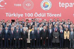 Kocaelili firmalar 'Türkiye 100'den ödülle döndü