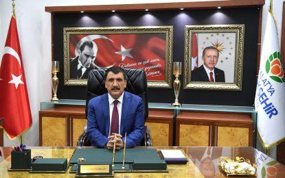 Malatya Büyükşehir Belediye Başkanı Selahattin Gürkan, Ramazan Bayramı dolayısıyla bir mesaj yayınladı