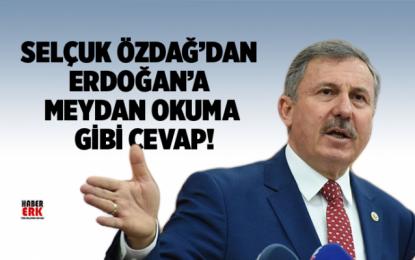 AK Parti'li eski vekil Selçuk Özdağ'dan, Erdoğan'a meydan okuma gibi cevap!