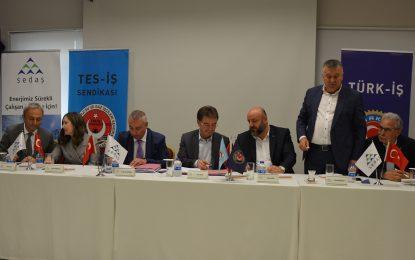 SEDAŞ ile TES–İŞ Sendikası arasında toplu iş sözleşmesi imzalandı