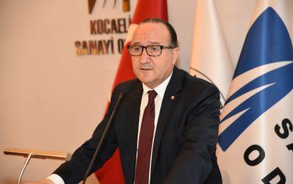 KSO Başkanı Zeytinoğlu sanayi üretim endeksi ve Kocaeli dış ticaret rakamlarını değerlendirdi