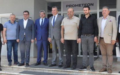 KOTO'dan Pirelli Prometeon Fabrika Direktörü Özer'e 'hayırlı olsun' ziyareti